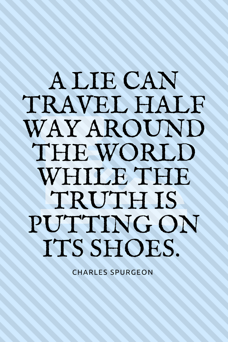 , A lie can travel half way around the world while the truth is putting on its shoes. Charles Spurgeon, Blockchain Adviser for Inter-Governmental Organisation | Book Author | Investor | Board Member