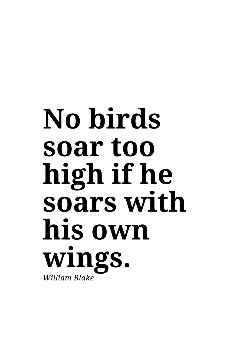 , No birds soar too high if he soars with his own wings. William Blake, Blockchain Adviser for Inter-Governmental Organisation | Book Author | Investor | Board Member