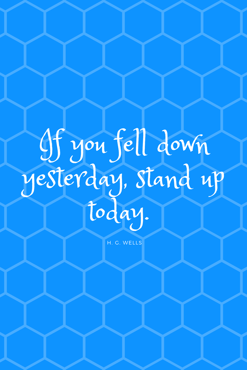 , If you fell down yesterday, stand up today. H. G. Wells, Blockchain Adviser for Inter-Governmental Organisation | Book Author | Investor | Board Member