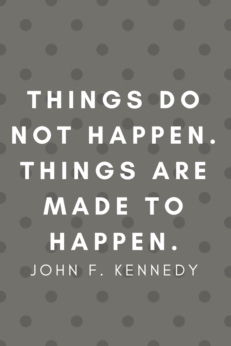 , Things do not happen. Things are made to happen. John F. Kennedy, Blockchain Adviser for Inter-Governmental Organisation   Book Author   Investor   Board Member