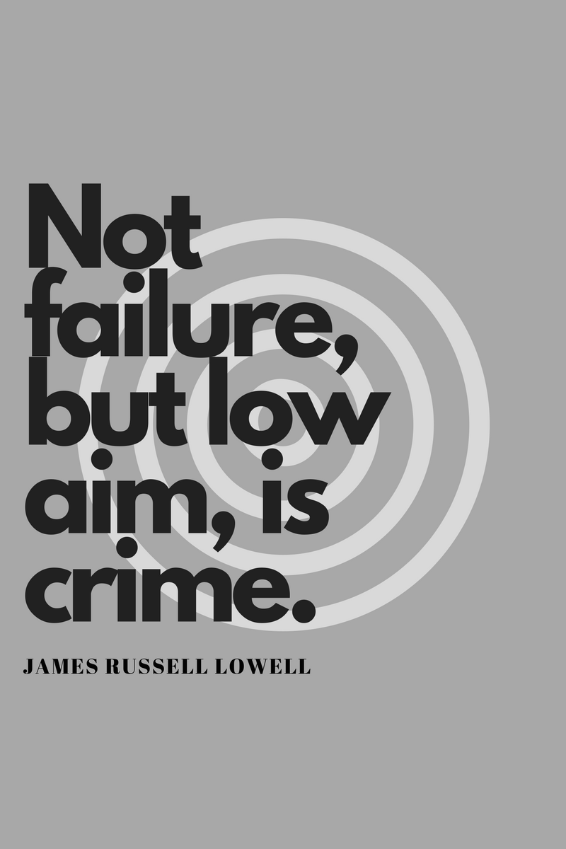 , Not failure, but low aim, is crime. James Russell Lowell, Blockchain Adviser for Inter-Governmental Organisation | Book Author | Investor | Board Member