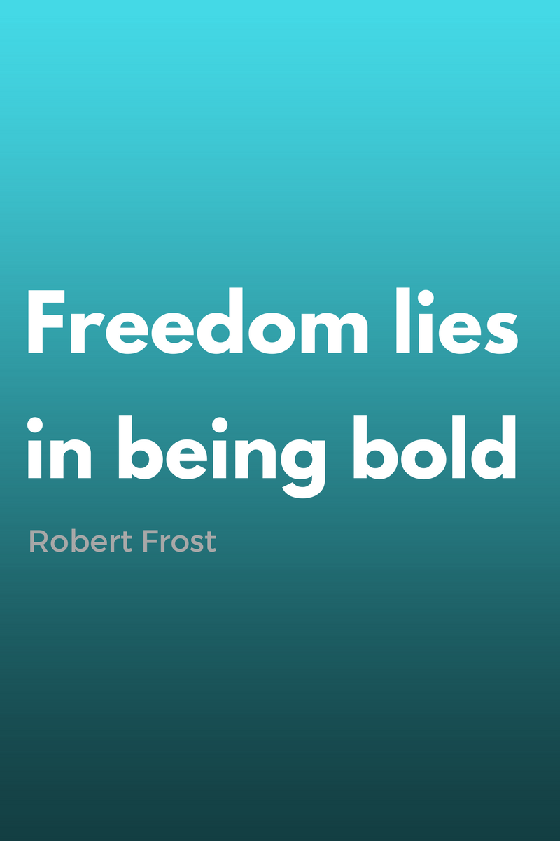 , Freedom lies in being bold. Robert Frost, Blockchain Adviser for Inter-Governmental Organisation | Book Author | Investor | Board Member