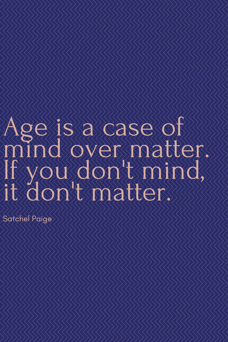 , Age is a case of mind over matter. If you don't mind, it don't matter. Satchel Paige, Blockchain Adviser for Inter-Governmental Organisation | Book Author | Investor | Board Member