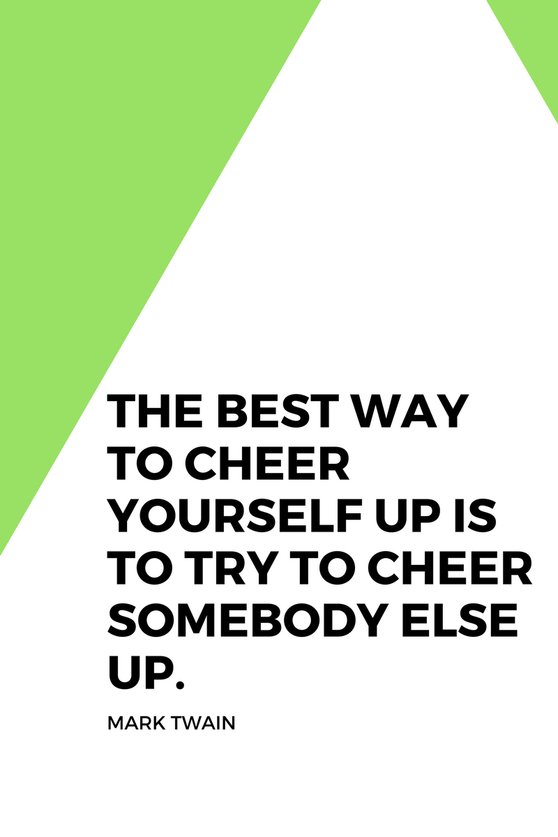 , The best way to cheer yourself up is to try to cheer somebody else up. Mark Twain, Blockchain Adviser for Inter-Governmental Organisation | Book Author | Investor | Board Member