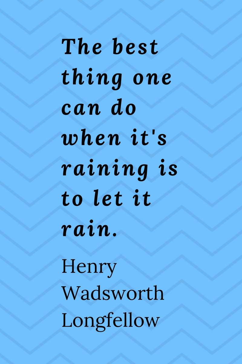 , The best thing one can do when it's raining is to let it rain. Henry Wadsworth Longfellow, Blockchain Adviser for Inter-Governmental Organisation | Book Author | Investor | Board Member