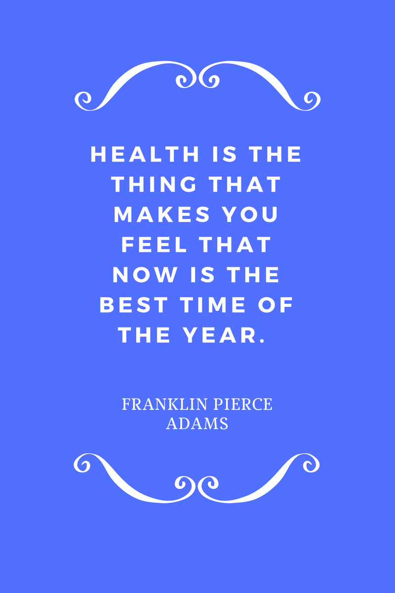 , Health is the thing that makes you feel that now is the best time of the year. Franklin Pierce Adams, Blockchain Adviser for Inter-Governmental Organisation | Book Author | Investor | Board Member