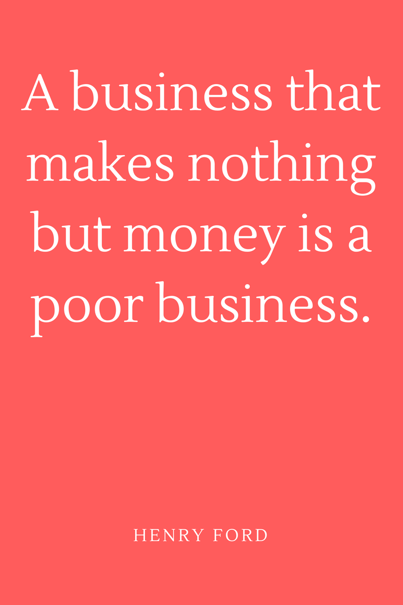 , A business that makes nothing but money is a poor business. Henry Ford, Blockchain Adviser for Inter-Governmental Organisation   Book Author   Investor   Board Member
