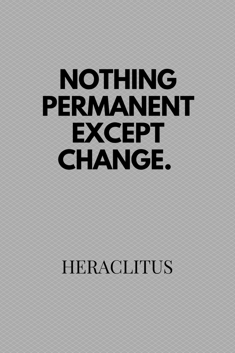 , There is nothing permanent except change. Heraclitus, Blockchain Adviser for Inter-Governmental Organisation   Book Author   Investor   Board Member