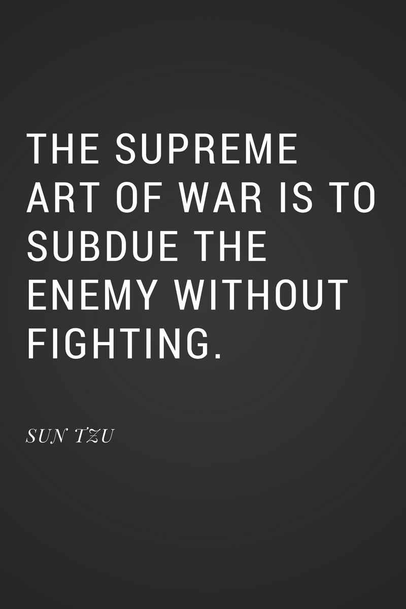 , The supreme art of war is to subdue the enemy without fighting. Sun Tzu, Blockchain Adviser for Inter-Governmental Organisation | Book Author | Investor | Board Member