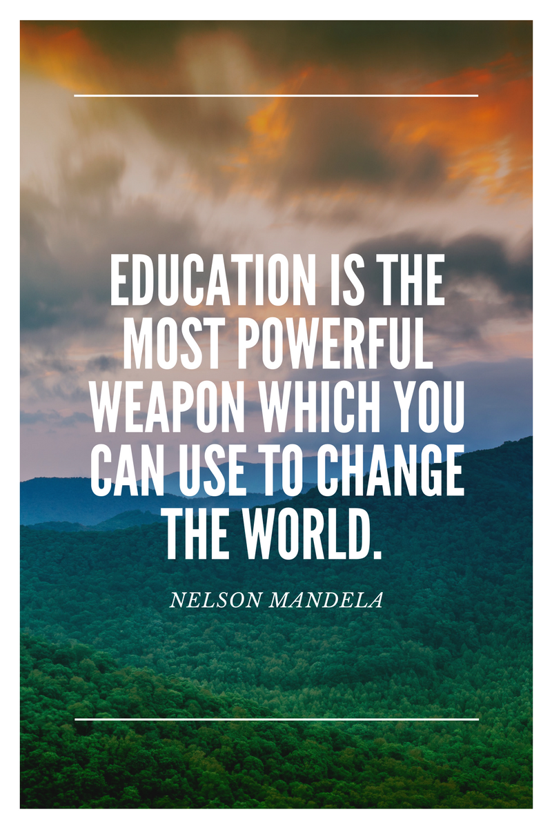 , Education is the most powerful weapon which you can use to change the world. Nelson Mandela, Blockchain Adviser for Inter-Governmental Organisation | Book Author | Investor | Board Member