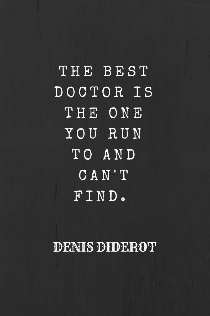 , The best doctor is the one you run to and can't find. Denis Diderot, Blockchain Adviser for Inter-Governmental Organisation | Book Author | Investor | Board Member