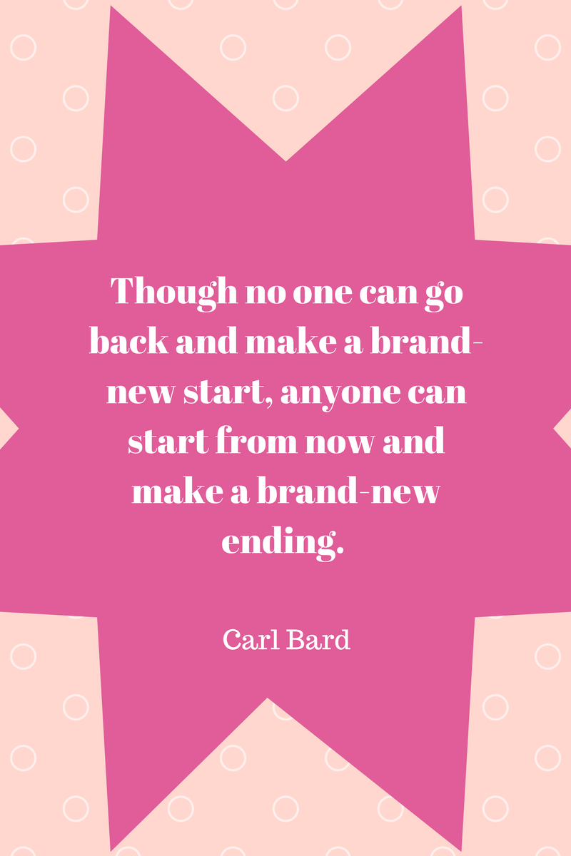 , Though no one can go back and make a brand-new start, anyone can start from now and make a brand-new ending. Carl Bard, Blockchain Adviser for Inter-Governmental Organisation | Book Author | Investor | Board Member