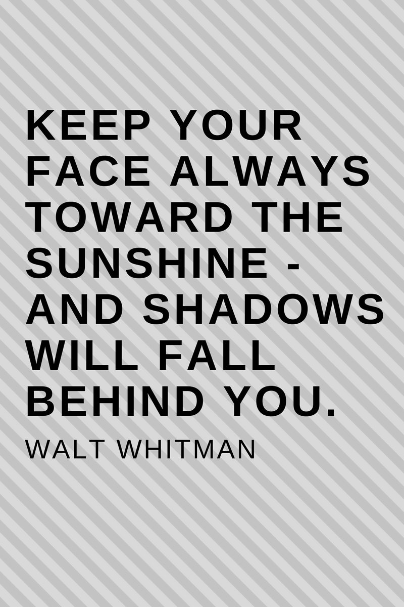, Keep your face always toward the sunshine – and shadows will fall behind you. Walt Whitman, Blockchain Adviser for Inter-Governmental Organisation | Book Author | Investor | Board Member