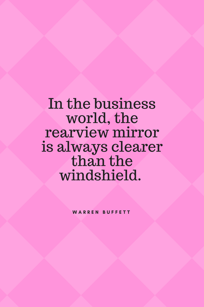 , In the business world, the rearview mirror is always clearer than the windshield. Warren Buffett, Blockchain Adviser for Inter-Governmental Organisation | Book Author | Investor | Board Member
