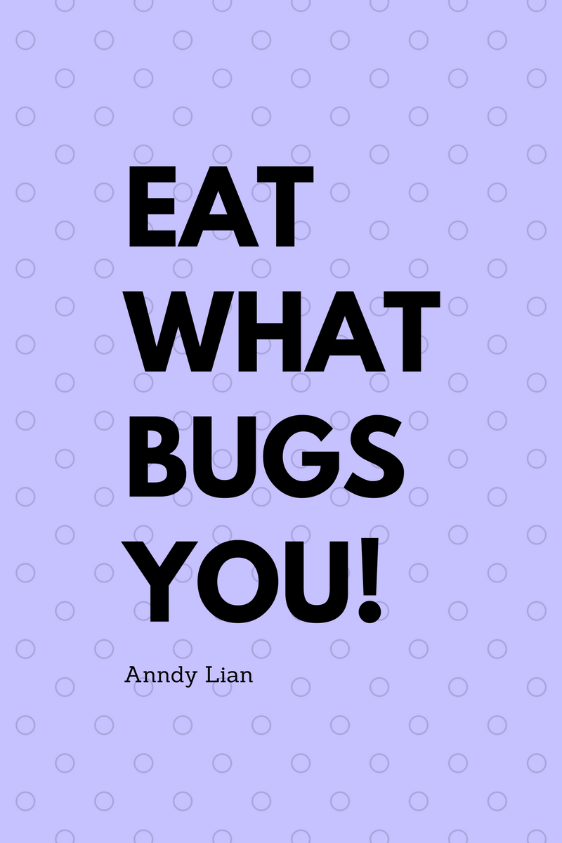 , Eat what bugs you. Anndy Lian, Blockchain Adviser for Inter-Governmental Organisation | Book Author | Investor | Board Member