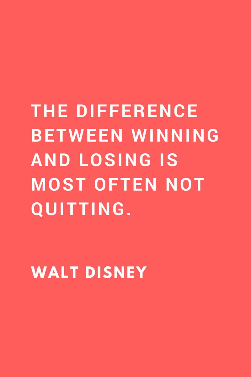 , The difference between winning and losing is most often not quitting. Walt Disney, Blockchain Adviser for Inter-Governmental Organisation | Book Author | Investor | Board Member