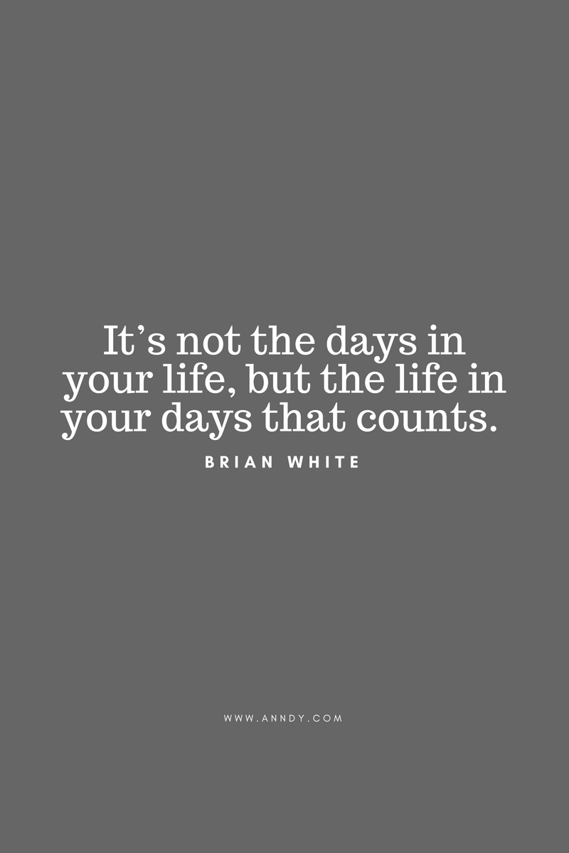 , It's not the days in your life, but the life in your days that counts. Brian White, Blockchain Adviser for Inter-Governmental Organisation | Book Author | Investor | Board Member