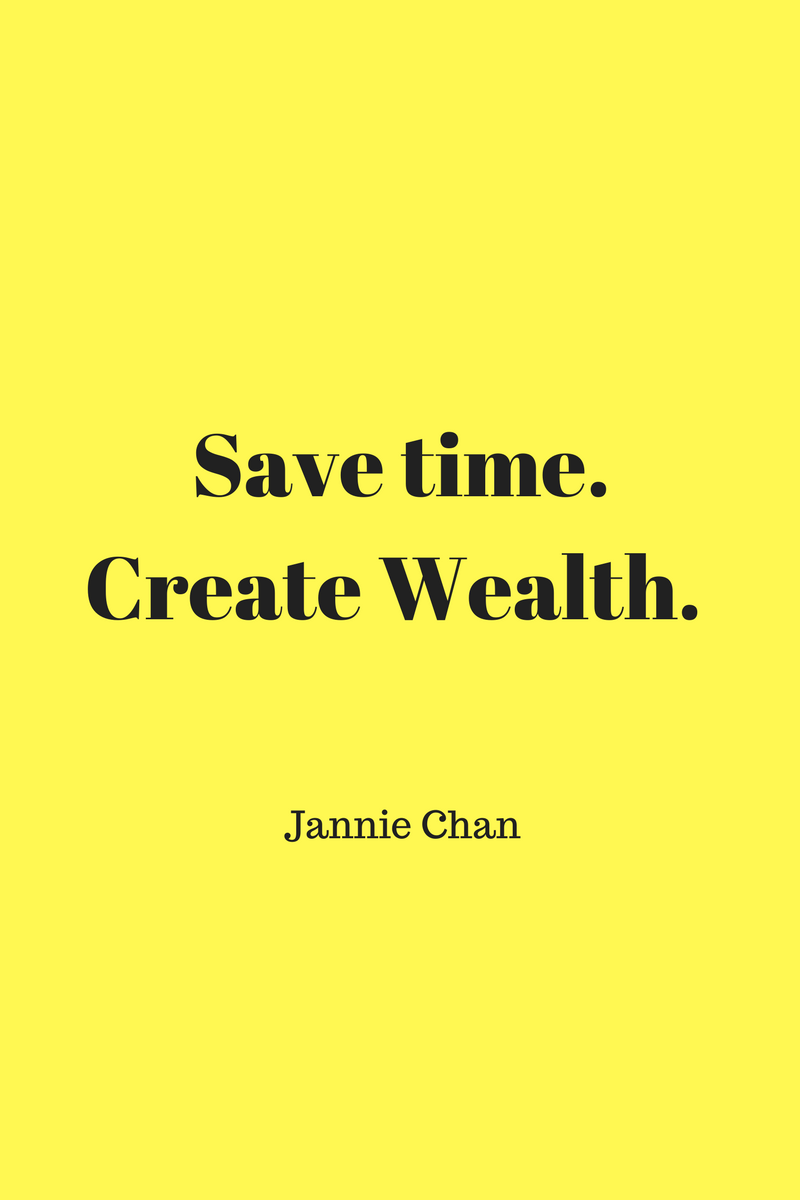 , Save time. Create Wealth. Jannie Chan, Blockchain Adviser for Inter-Governmental Organisation | Book Author | Investor | Board Member