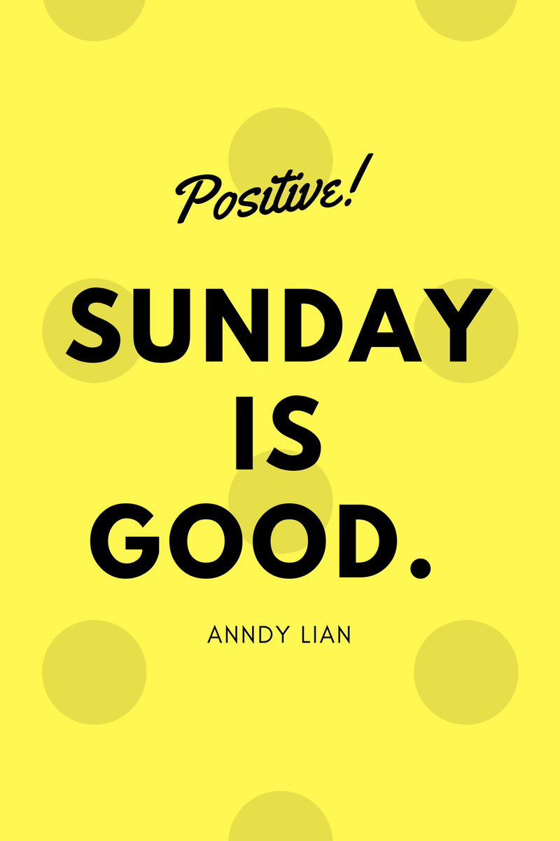 , Sunday is good. Anndy Lian, Blockchain Adviser for Inter-Governmental Organisation | Book Author | Investor | Board Member
