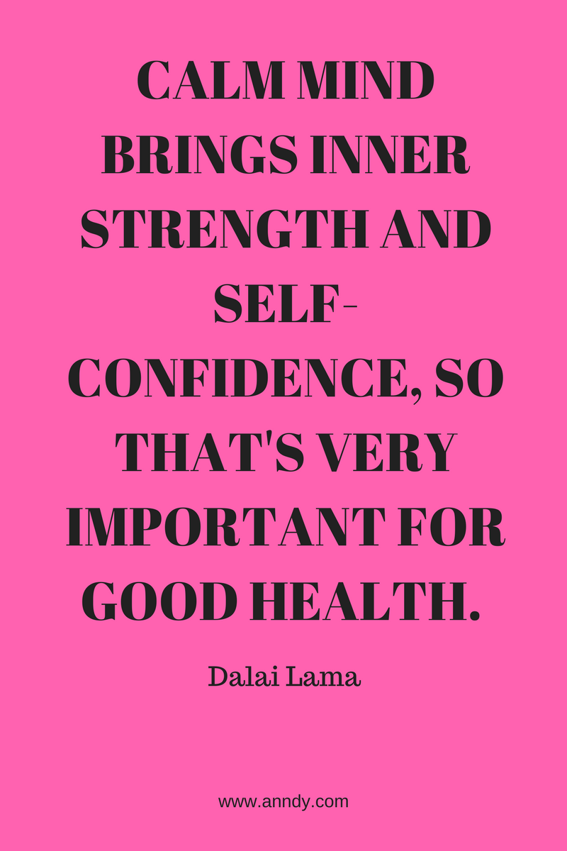 , Calm mind brings inner strength and self-confidence, so that's very important for good health. Dalai Lama, Blockchain Adviser for Inter-Governmental Organisation | Book Author | Investor | Board Member